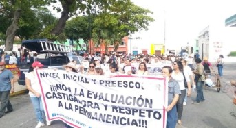 En Yucatán la CNTE encabeza protestas contra la Reforma Educativa