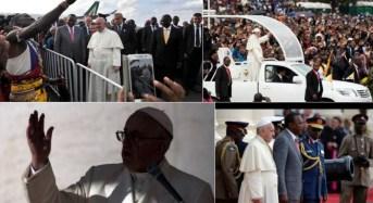 Estén firmes en la Fe, les dice el Papa Francisco a católicos africanos