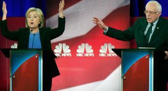 Entusiasmo de Sanders amenaza el liderazgo de Clinton