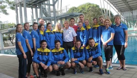 Selección Ucraniana de clavados entrena en Yucatán