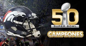 Broncos de Denver gana el Super Bowl 50