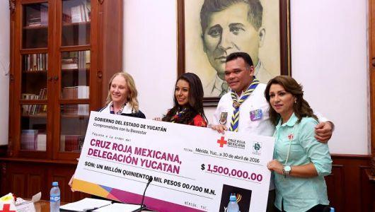 Cruz Roja Mexicana, fuerza histórica de Yucatán