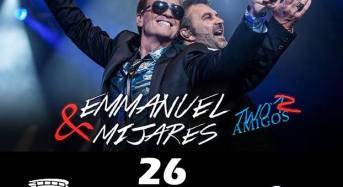 Emmanuel y Mijares de nuevo en Coliseo Yucatan