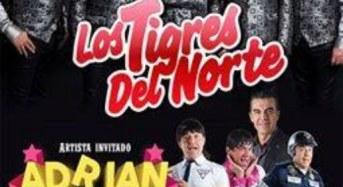 Los tigres del Norte y Adrián Uribe en Coliseo Yucatán