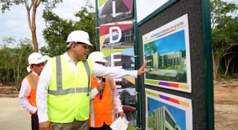 Universidad Politécnica de Yucatán alista instalaciones: 90% de avance en su construcción