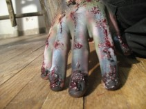sfx make up, special effects make up, horror, gore, zombie, liquid latex, missing fingernails