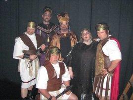 JSSC, jesus christ super star, theatrical makeup, annas, caiaphas, priestest, roman soldiers