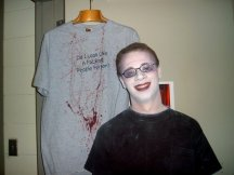 trauma, wound, sfx make up, special effects makeup, horror, gore, zombie, theatrical makeup