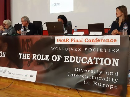 GEAR: Global Education and Active Response for the Protection of Human Rights, Inclusion and Democratic Values in Intercultural Societies