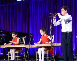 Young musicians from Armenia perform at the COAF gala.