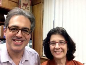 Marc Mamigonian and Sara Ignatius