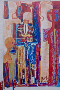 A work by Berj Kailian