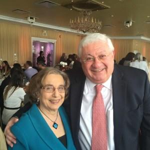Dr. Barbara Merguerian and Hagop Vartivarian