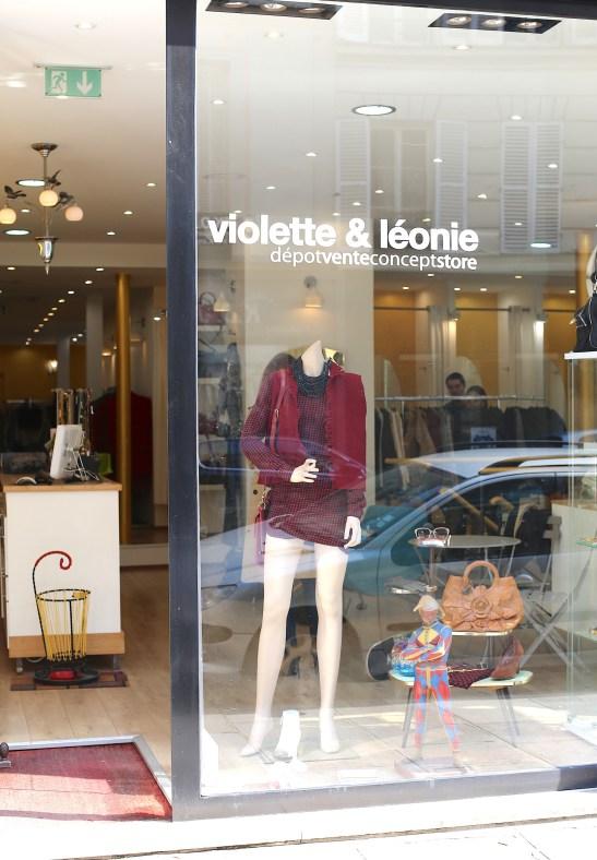 Tweedehands bij Violette & Léonie in Parijs