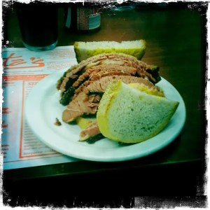 Smoked Meat Sandwich at Schwartz's Deli Montreal