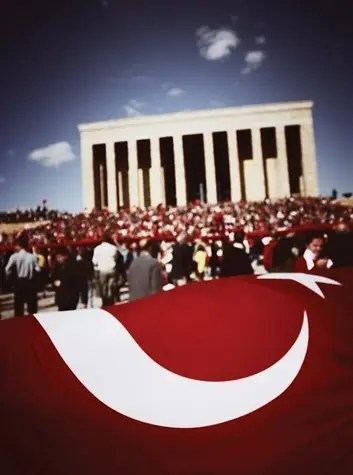 Ataturk Mausoleum in Ankara