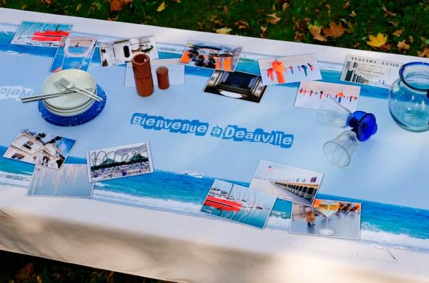nappe et sets de table personnalisés avec photos