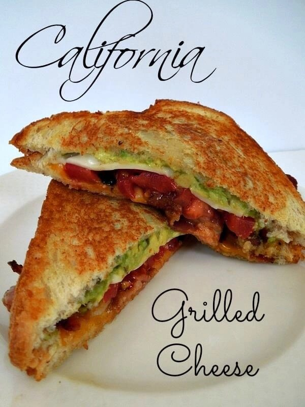 California Grilled Cheese plus 20 other great grilled cheese recipes!