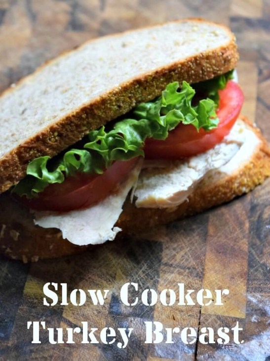 Make your own deli meat in your slowcooker by making this  easy turkey breast
