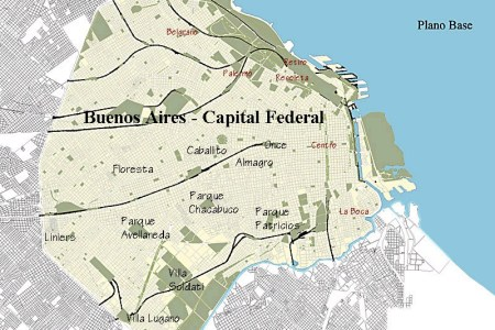 argentina buenos aires west mission | maps of the buenos