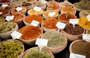 Spices from iStockPhoto