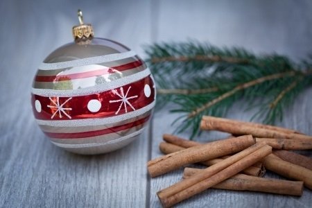 Ornament and Cinnamon