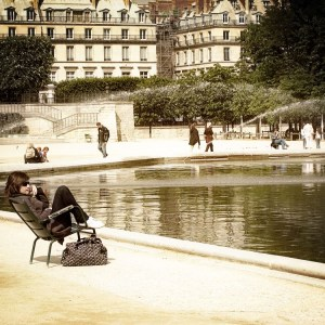 chic chick, tuileries