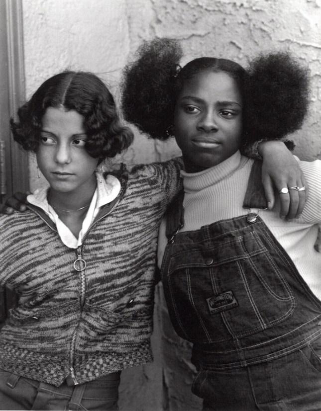 Jacqueline Santiago & Cathy, Bushwick, Brooklyn, circa 1976