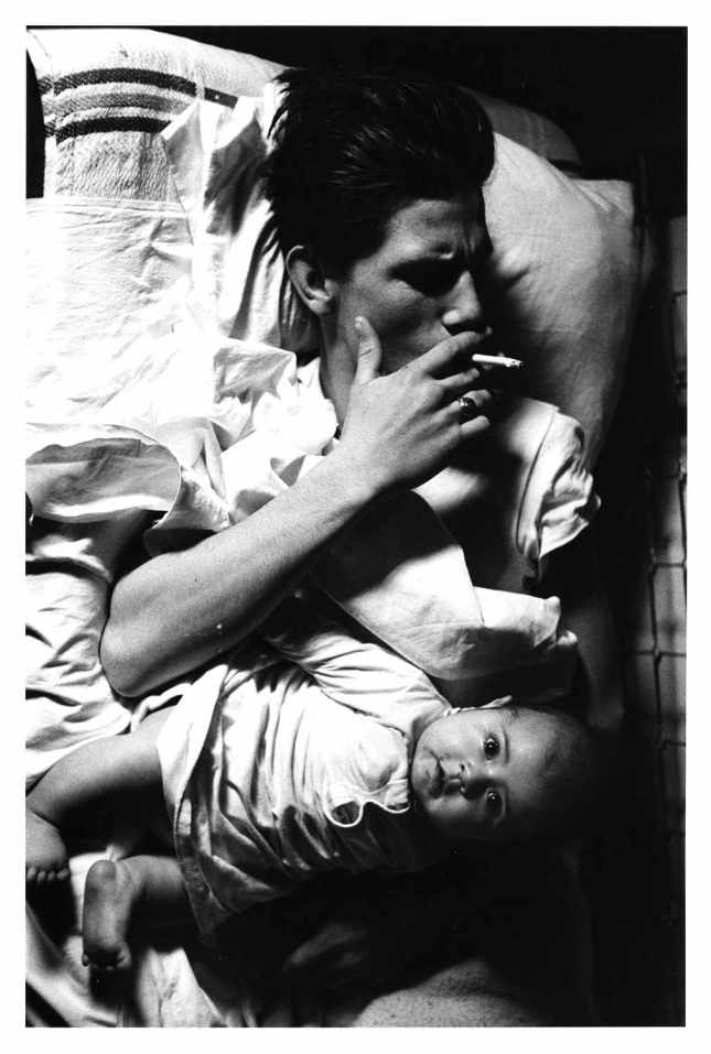 """Larry Clark, Untitled, 1963, from the series """"Tulsa,"""" 1963-71. © Larry Clark; Courtesy of the artist and Luhring Augustine, New York."""