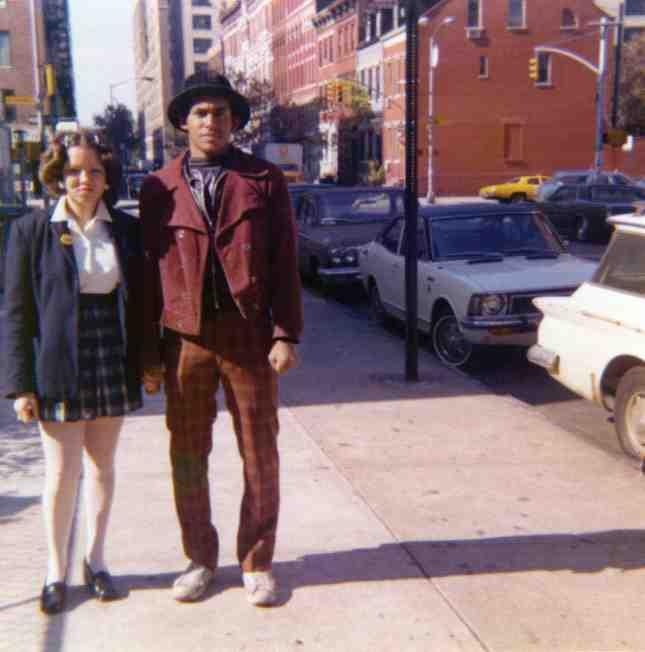 ROCKY 184 and STITCH 1, circa 1972. Courtesy of ROCKY 184.