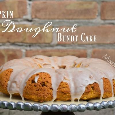 Pumpkin Doughnut Bundt Cake #PumpkinSpicedLife