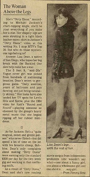 News Clipping about Ms. Dean