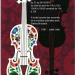 image stage violon
