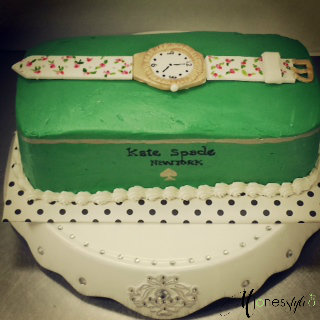 #loft22 cakes #tareka lofton #kate spade cake