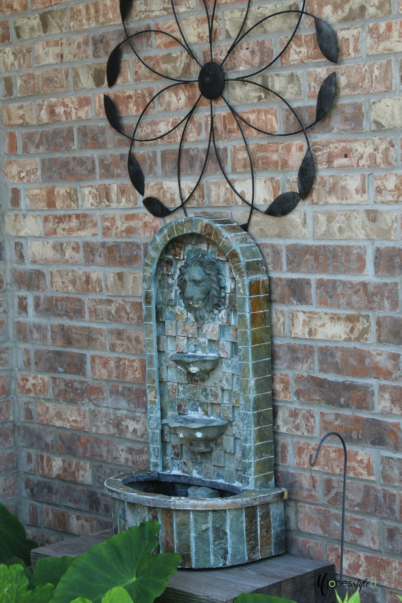 #waterfountain#yardart