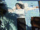 * Hollywood MJ mural 2011