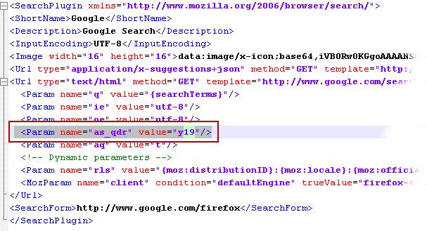 google.xml file