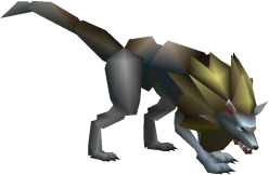 Bandersnatch image from Final Fantasy VII, Japanese version