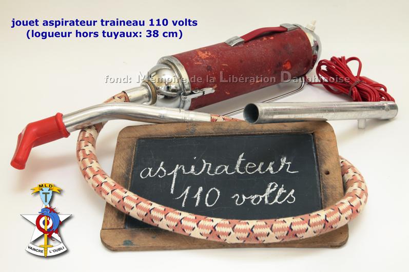 JOUET ASPIRATEUR 110 VOLTS -ret -c -s -m