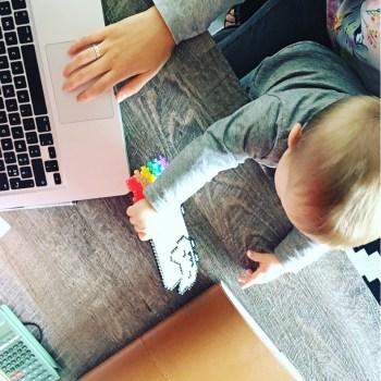 Vis ma vie de jeune maman freelance