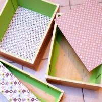 Fabriquez une étagère sans en faire des caisses