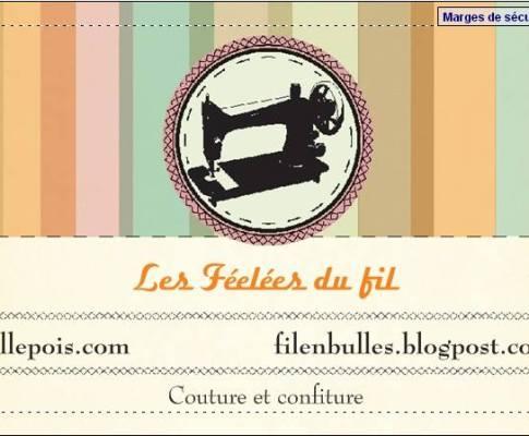 Les créations de Mlle Pois et Fil en bulles au free Market de Clichy le 25 mai.
