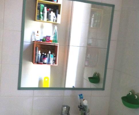Décorer un miroir : mon astuce masking tape