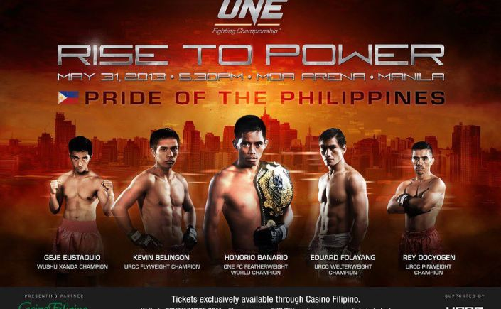 ONE FC 9 Rise to Power
