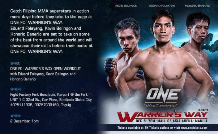 ONE FC Open Workout