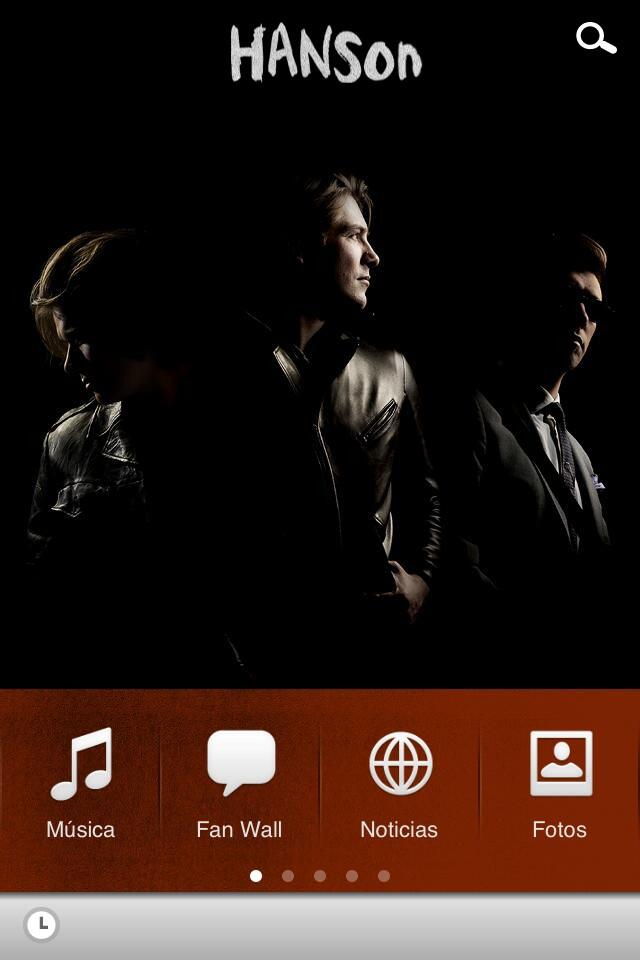 Official Hanson App for iPhone and Android