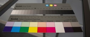 Kodak color guides