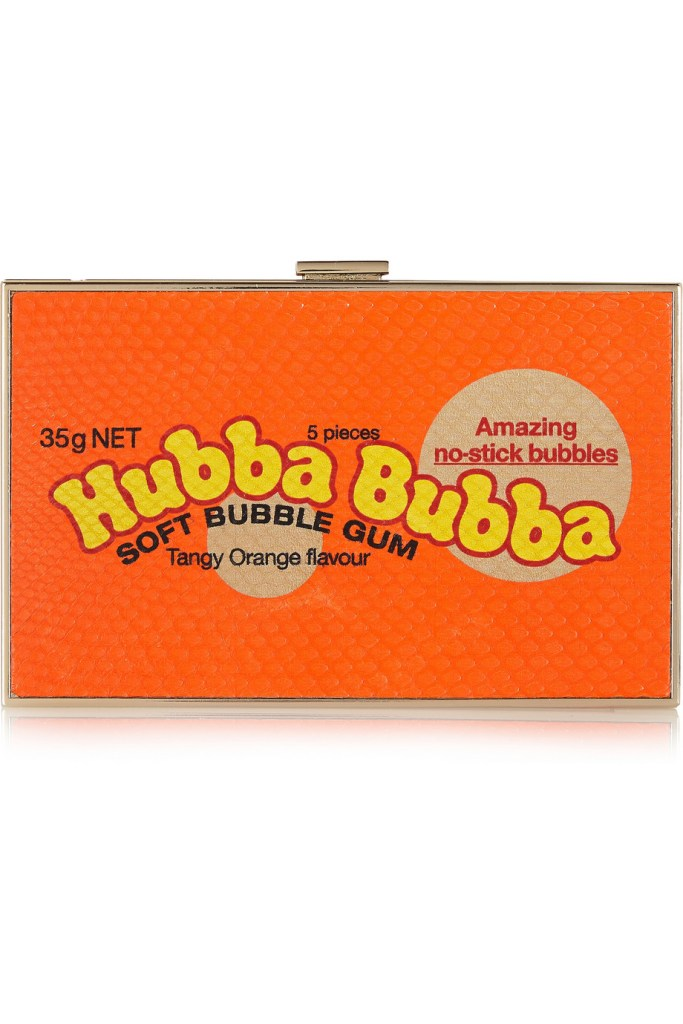 ANYA HINDMARCH  Imperial Hubba Bubba elaphe clutch $1,595
