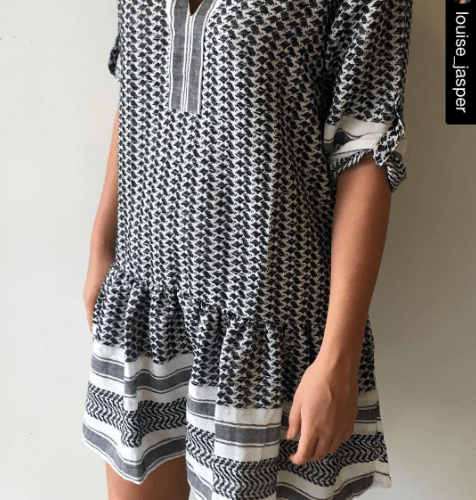 keffiyeh dress