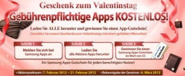 samsung apps aktion 2012